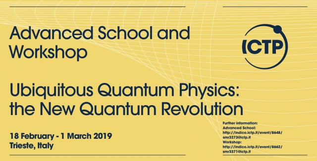 These last years have shown a fast growing development in the use of quantum  phenomena in technology-oriented and information-related fields 6c49fb3c00a4f